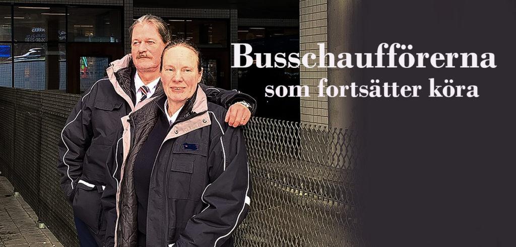Två busschaufförer